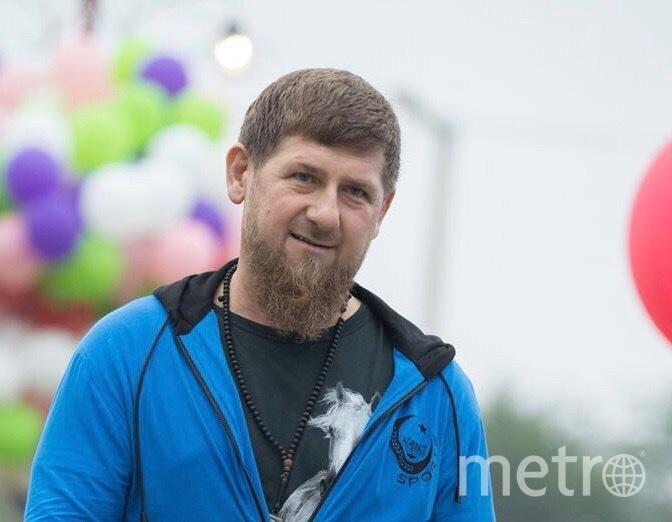 Глава Чечни Рамзан Кадыров. Фото vk.com/ramzan