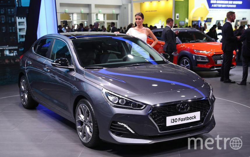 Автомобиль Hyundai. Фото Getty