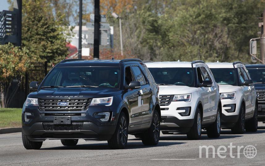 Автомобили Ford. Фото Getty