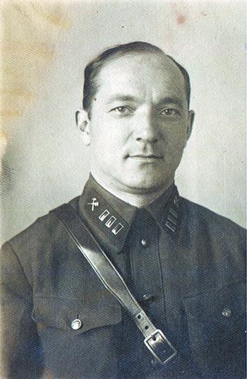 Г. Э. Лангемак. Февраль 1937 г. . Фото предоставил Александр Глушко