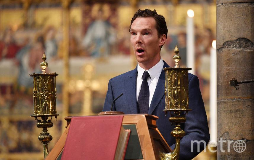 Во время выступления на мемориальной службе памяти профессора Стивена Хокинга в Вестминстерском аббатстве. Фото Getty