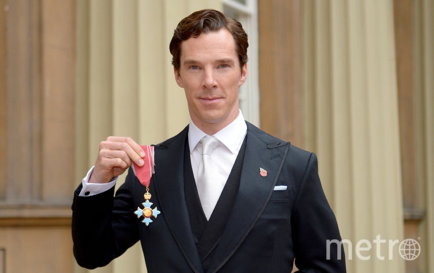 Бенедикт Камбербэтч - Командор Ордена Британской империи (2015). Фото Getty