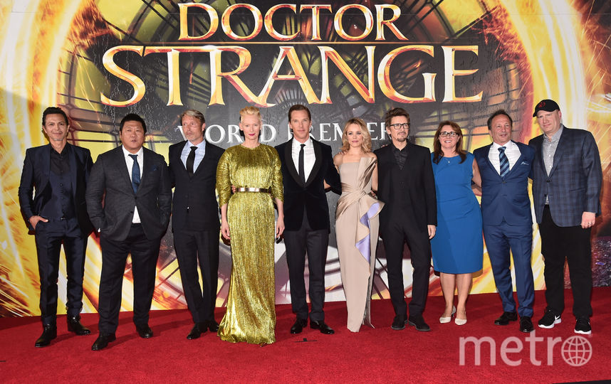 """На премьере фильма """"Доктор Стрэндж"""", 2016. Фото Getty"""