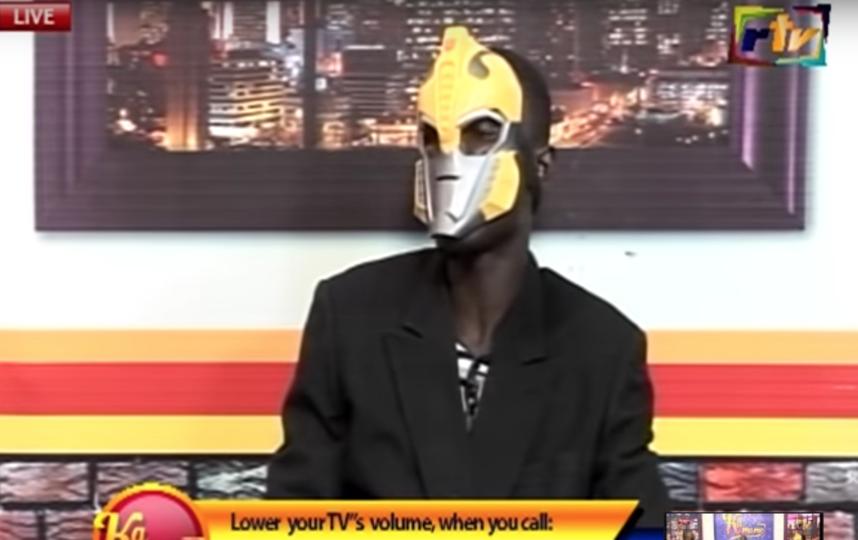Пастор из Ганы. Фото Скриншот Youtube
