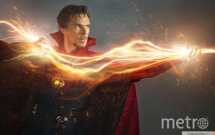 В роли Доктора Стрэнджа. Фото Marvel Studios Inc, kinopoisk.ru