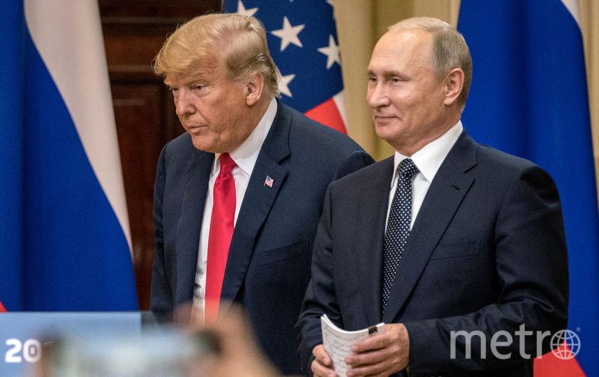 Журнал Time совместил наобложке водном лице В. Путина  иТрампа