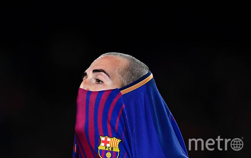 """Защитник испанской """"Браселоны"""" Алейш Видаль. Фото Getty"""