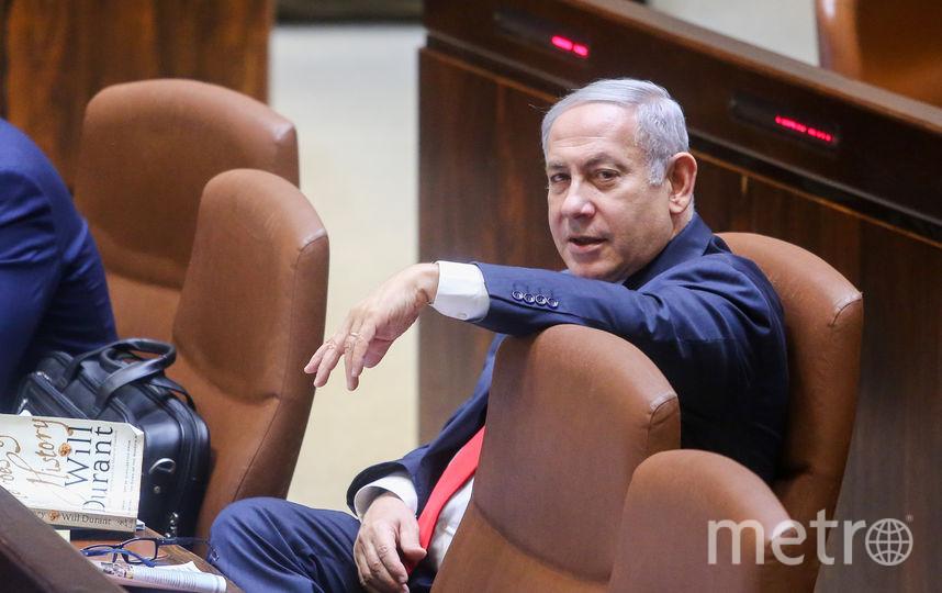 Беньямин Нетаньяху, премьер-министр Израиля. Фото AFP