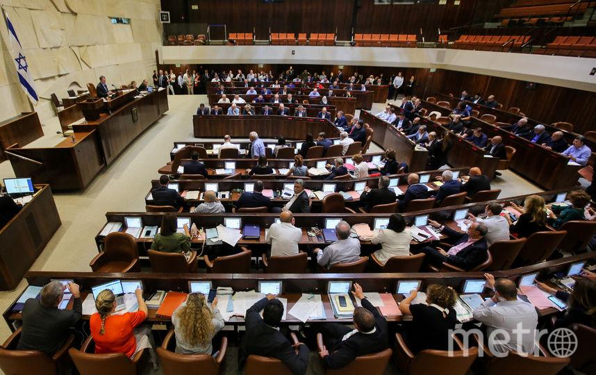 Израильский парламент. Фото AFP