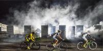 Участники ультра-марафонской велогонки Red Bull Trans-Siberian Extreme готовятся к старту