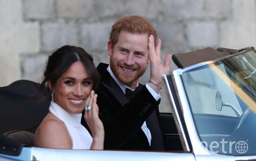 Меган Маркл и принц Гарри, свадьба. Фото Getty