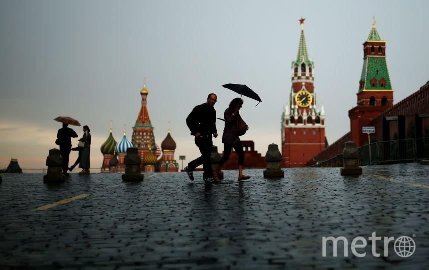 Ливень в Москве. Фото Getty