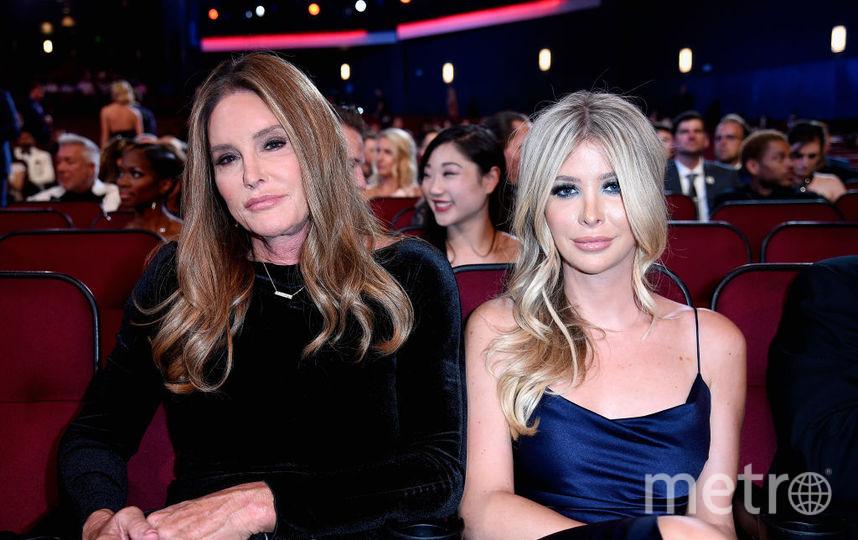 """Красотки на спортивном """"Оскаре"""" в Лос-Анджелесе: откровенные и шокирующие наряды. Кейтлин Дженнер и София Хатчинс. Фото Getty"""