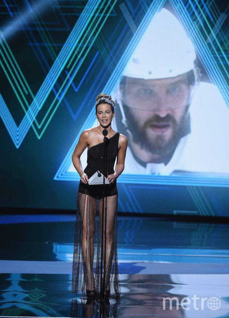 """Красотки на спортивном """"Оскаре"""" в Лос-Анджелесе: откровенные и шокирующие наряды. Кейт Бекинсейл. Фото Getty"""