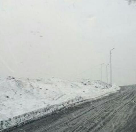 В Норильске выпал снег. Фото Instagram/anna_norilsk124