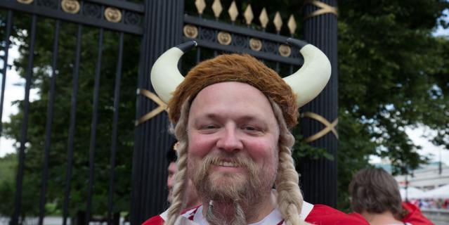 Рога у датчан – признак настоящего викинга.