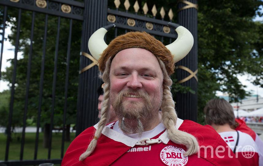 Рога у датчан – признак настоящего викинга. Фото Василий Кузьмичёнок