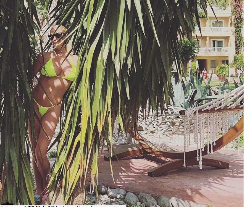 В этом году Волочкова уже не раз была в Турции. Фото instagram.com/volochkova_art