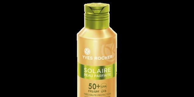 10. Солнцезащитное Молочко для Лица и Тела Yves Rocher SPF 50+.