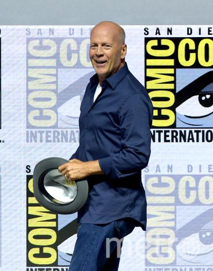 Брюс Уиллис на Comic-Con 2018 в Сан Диего. Фото Getty