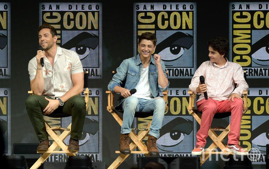"""Актеры фильма """"Шазам"""" на Comic-Con 2018 в Сан Диего. Фото Getty"""