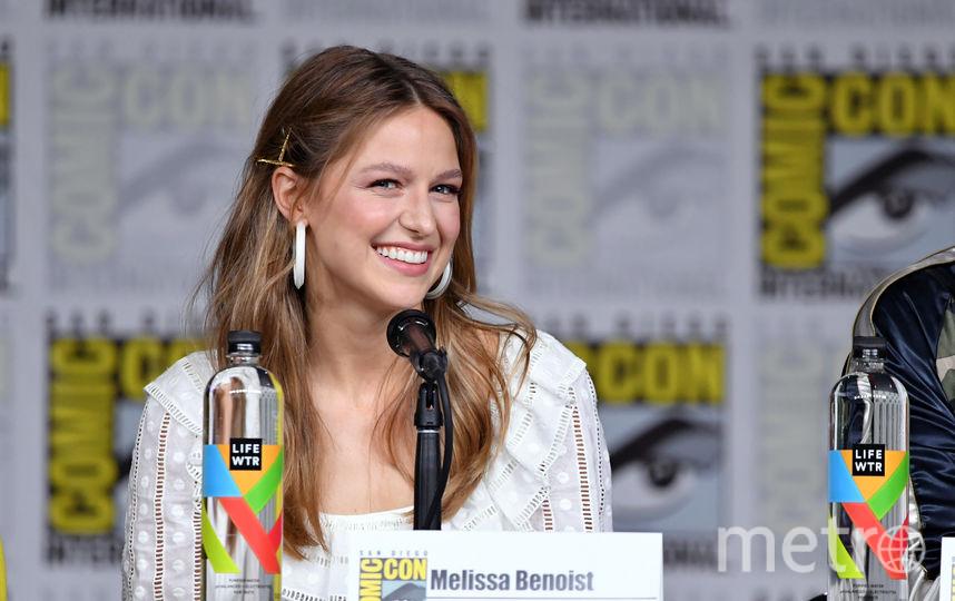 Мелисса Бенойст на Comic-Con 2018 в Сан Диего. Фото Getty