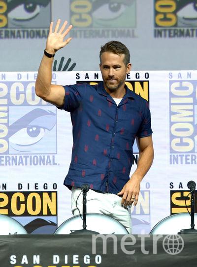 Райан Рейнольдс на Comic-Con 2018 в Сан Диего. Фото Getty