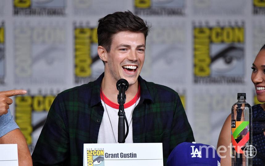 "Грант Гастин, актер сериала ""Флэш"", на Comic-Con 2018 в Сан Диего. Фото Getty"