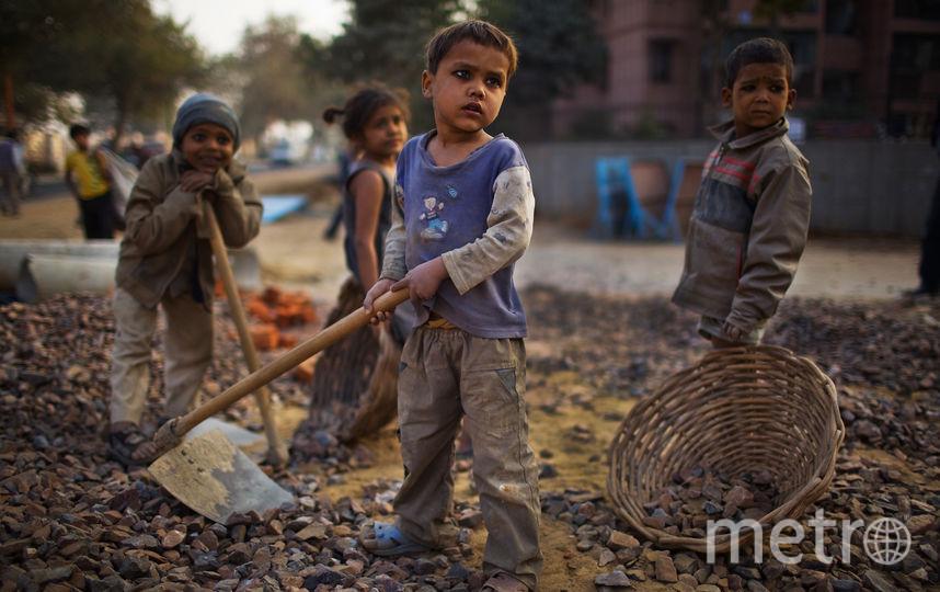 В современном рабстве, по данным Walk Free, находится 40,3 миллиона человек. Фото Getty
