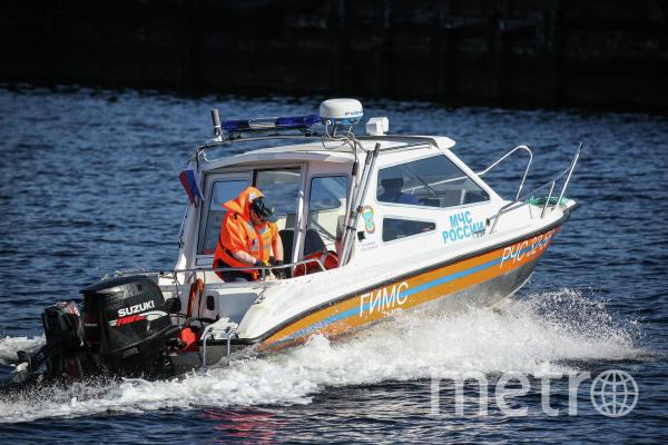 В реке Бузан утонуло трое детей. Архивное фото МЧС России. Фото РИА Новости