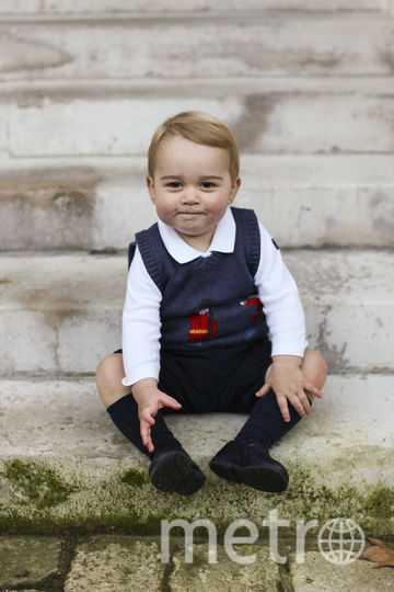 Принц Джордж. 2 года. Фото Getty