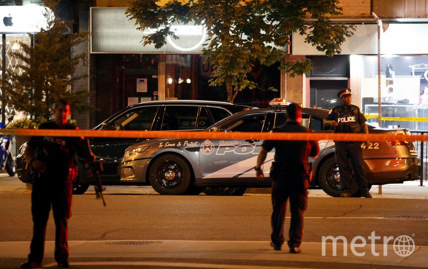 В Торонто произошла стрельба. Фото AFP
