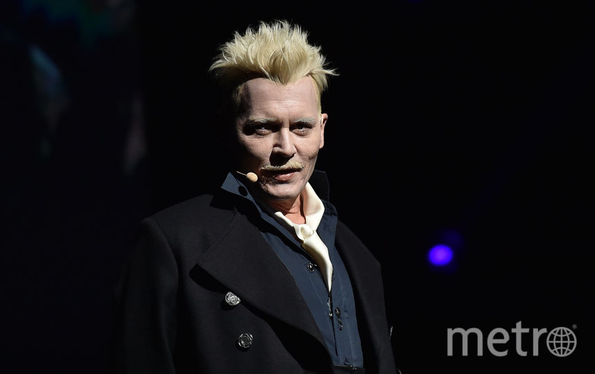 "Команда ""Фантастических тварей"" на Comic-Con. Фото AFP"