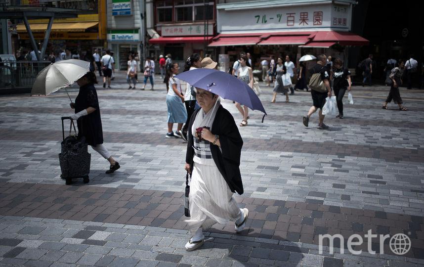 Рекордная жара в Японии. Фото AFP