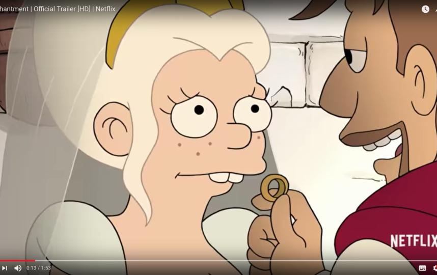 """Первый сезон """"Разочарования"""" из десяти эпизодов появится онлайн 17 августа. Фото Скриншот Youtube"""