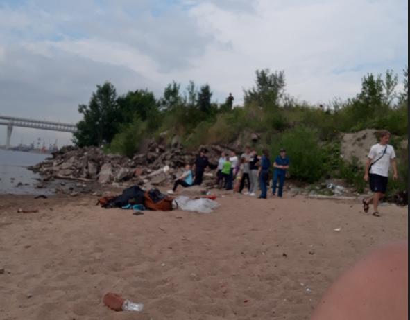 На Канонерском острове ищут 14-летнего мальчика. Фото vk.com/spb_today