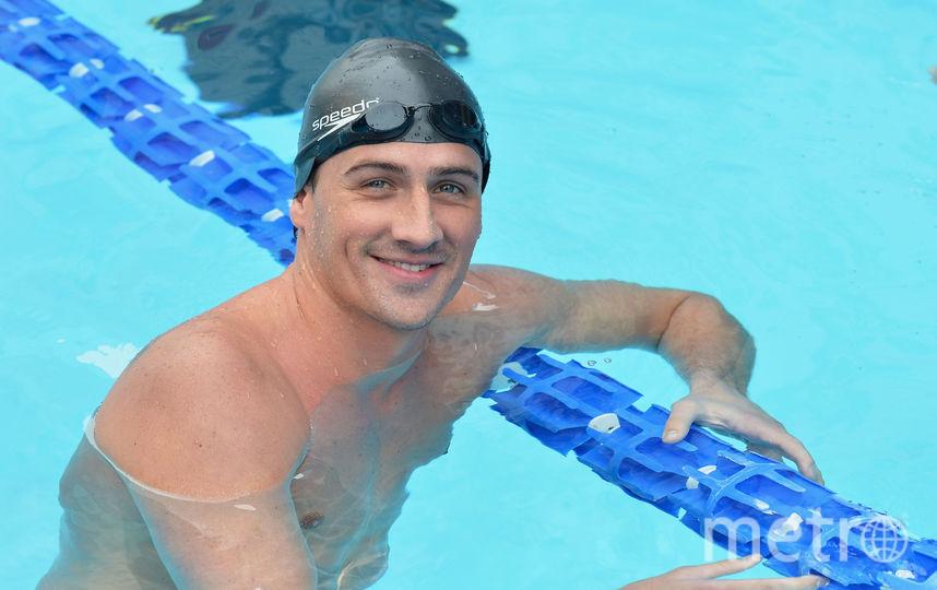 Пловец Райан Лохте дисквалифицирован на 14 месяцев. Фото Getty