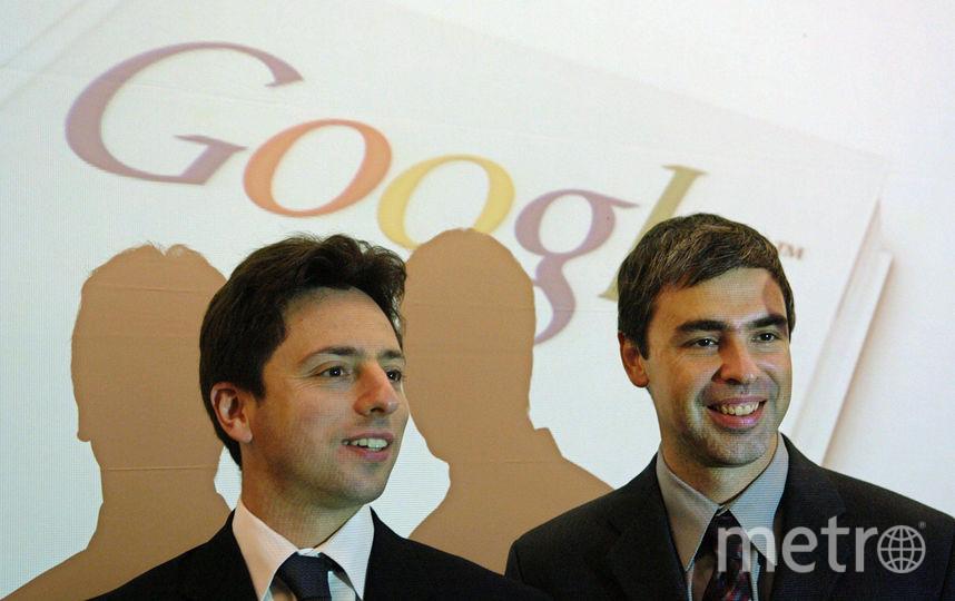 Основатели корпорации Google Сергей Брин и Ларри Пейдж. Фото ПРЕДОСТАВЛЕНО DISCOVERY CHANNEL