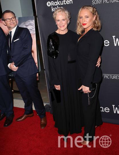 """Премьера фильма """"Жена"""" в Лос-Анджелесе. Гленн Клоуз с дочкой Энни Старк. Фото Getty"""