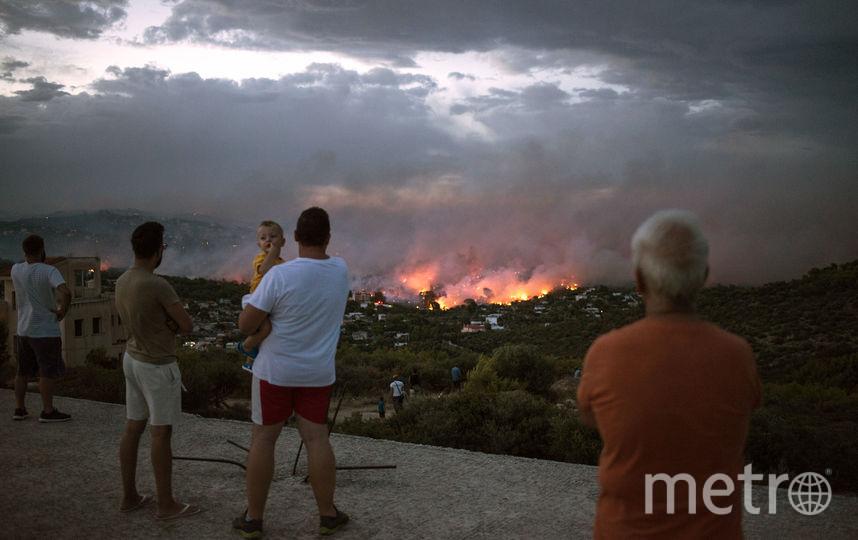 Греция. Фото AFP