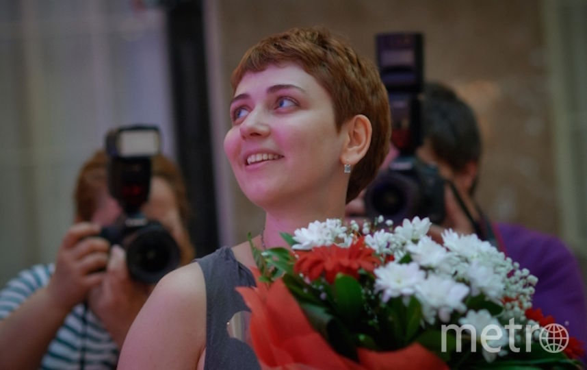 Анна Старобинец. Фото РИА Новости
