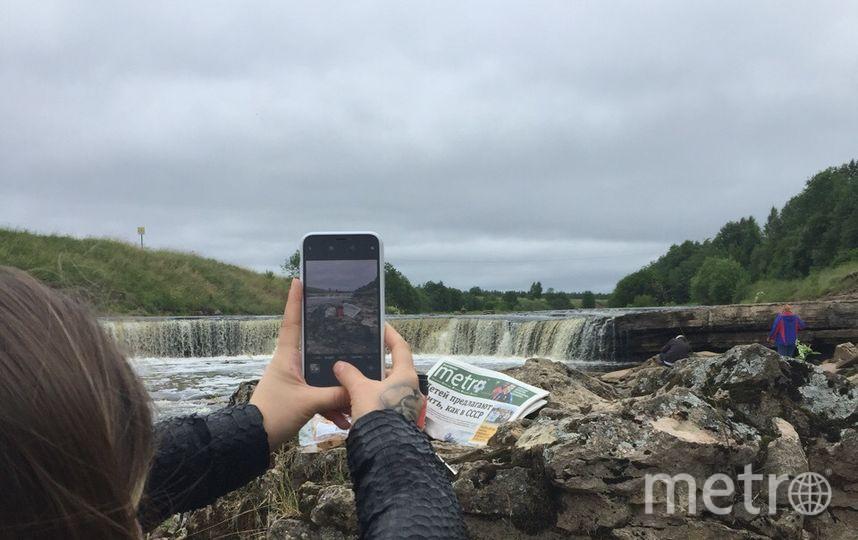 "Тосненский водопад. Фото Карина Тепанян, ""Metro"""