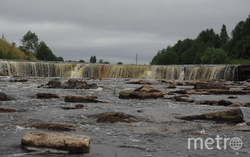 Тосненский водопад. Фото Владимир Голиков, instagram.com/vl_golikov/