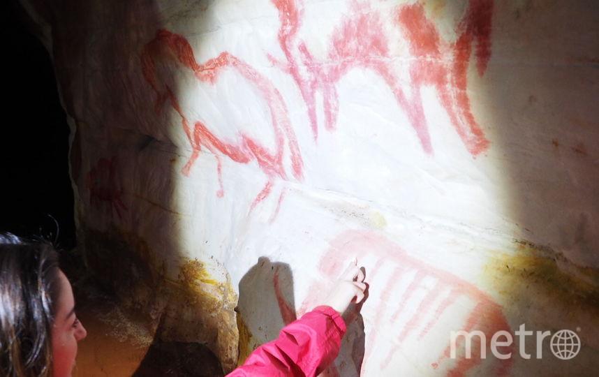 В Саблинской пещере. Фото Владимир Голиков, instagram.com/vl_golikov/