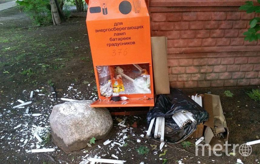"""Петербургские активисты обеспокоены """"беспощадным"""" сбором опасных отходов. Фото предоставлено активистами"""