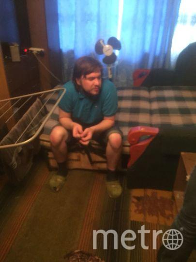 В квартире предполагаемого преступника. Фото mosobl.sledcom.ru