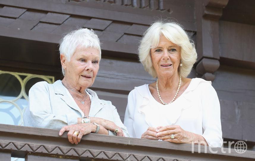 Камилла Паркер-Боулз и актриса Джуди Денч. Фото Getty