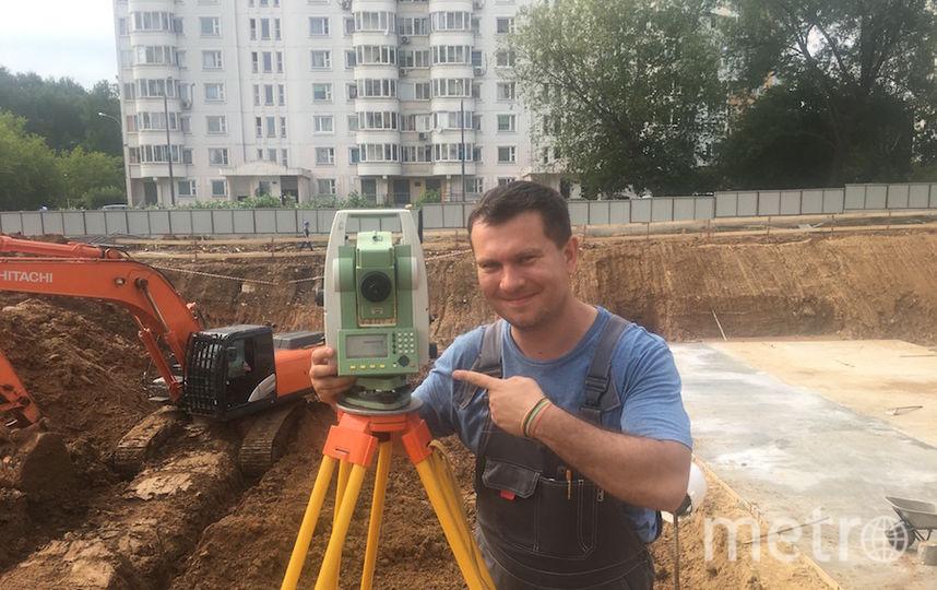 """Электронный тахеометр """"Тахом"""". Фото Олег"""