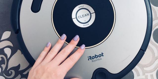 Робот-пылесос Муся.