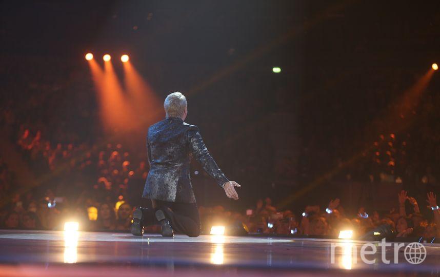 Николай Басков на сцене фестиваля. Фото Андрей Федечко.
